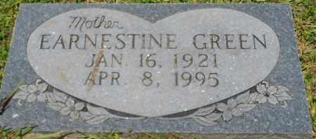 GREEN, EARNESTINE - Hempstead County, Arkansas | EARNESTINE GREEN - Arkansas Gravestone Photos