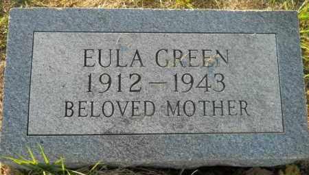 GREEN, EULA - Hempstead County, Arkansas   EULA GREEN - Arkansas Gravestone Photos
