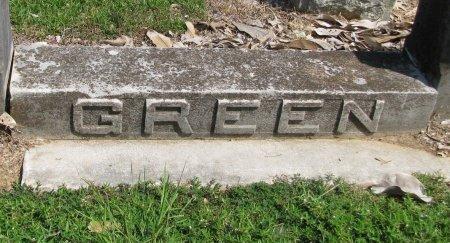 GREEN, FAMILY PLOT MARKER - Hempstead County, Arkansas | FAMILY PLOT MARKER GREEN - Arkansas Gravestone Photos