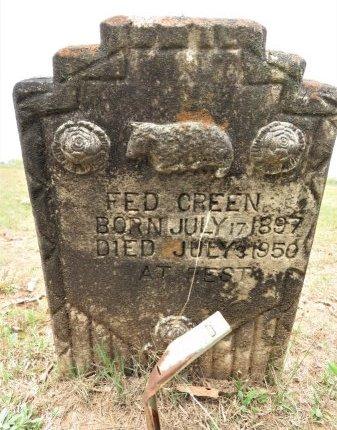 GREEN, FED - Hempstead County, Arkansas | FED GREEN - Arkansas Gravestone Photos