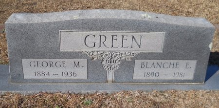 GREEN, GEORGE M - Hempstead County, Arkansas   GEORGE M GREEN - Arkansas Gravestone Photos