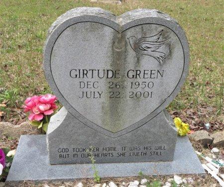 GREEN, GIRTUDE - Hempstead County, Arkansas   GIRTUDE GREEN - Arkansas Gravestone Photos