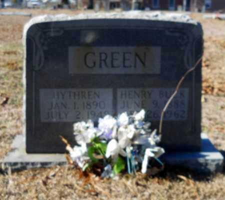 GREEN, HENRY BUCK - Hempstead County, Arkansas | HENRY BUCK GREEN - Arkansas Gravestone Photos