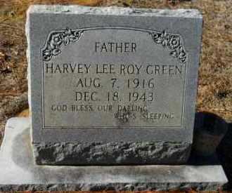 GREEN, HARVEY LEE ROY - Hempstead County, Arkansas   HARVEY LEE ROY GREEN - Arkansas Gravestone Photos