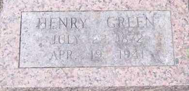 GREEN, HENRY - Hempstead County, Arkansas | HENRY GREEN - Arkansas Gravestone Photos