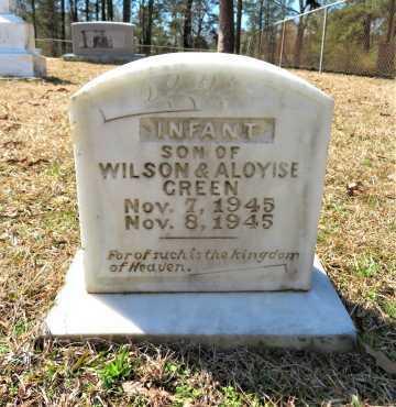 GREEN, INFANT SON - Hempstead County, Arkansas   INFANT SON GREEN - Arkansas Gravestone Photos