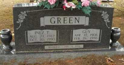 GREEN, GUY - Hempstead County, Arkansas   GUY GREEN - Arkansas Gravestone Photos