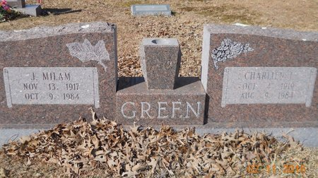 GREEN, J. MILAM - Hempstead County, Arkansas | J. MILAM GREEN - Arkansas Gravestone Photos