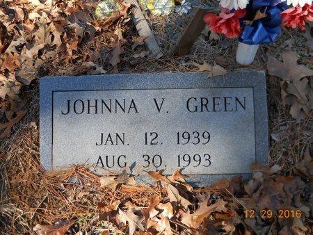 GREEN, JOHNNA V. - Hempstead County, Arkansas   JOHNNA V. GREEN - Arkansas Gravestone Photos
