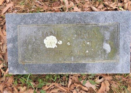 GREEN, JANIE - Hempstead County, Arkansas | JANIE GREEN - Arkansas Gravestone Photos