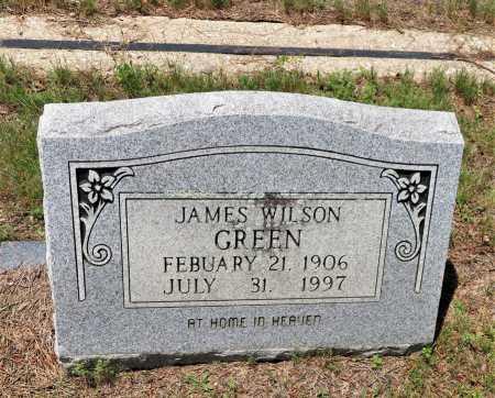 GREEN, JAMES WILSON - Hempstead County, Arkansas   JAMES WILSON GREEN - Arkansas Gravestone Photos