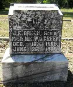 GREEN, J. E. - Hempstead County, Arkansas | J. E. GREEN - Arkansas Gravestone Photos
