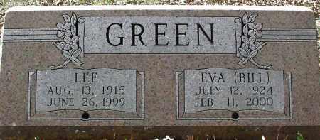 GREEN, EVA (BILL) - Hempstead County, Arkansas | EVA (BILL) GREEN - Arkansas Gravestone Photos