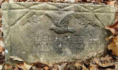 GREEN, LELA - Hempstead County, Arkansas | LELA GREEN - Arkansas Gravestone Photos