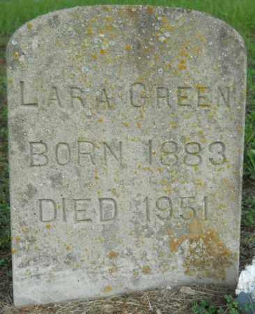 GREEN, LARA - Hempstead County, Arkansas | LARA GREEN - Arkansas Gravestone Photos