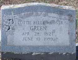 GREEN, LOTTIE BELLE - Hempstead County, Arkansas   LOTTIE BELLE GREEN - Arkansas Gravestone Photos