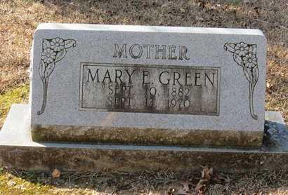 GREEN, MARY E. - Hempstead County, Arkansas   MARY E. GREEN - Arkansas Gravestone Photos