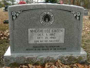 GREEN, MAGGIE LEE - Hempstead County, Arkansas   MAGGIE LEE GREEN - Arkansas Gravestone Photos