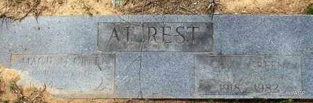GREEN, MAGGIE - Hempstead County, Arkansas | MAGGIE GREEN - Arkansas Gravestone Photos
