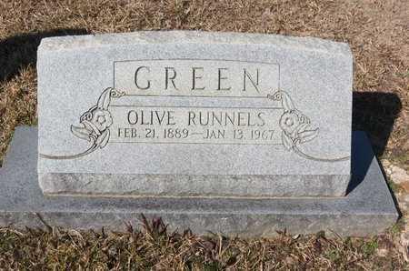 GREEN, OLIVE - Hempstead County, Arkansas   OLIVE GREEN - Arkansas Gravestone Photos