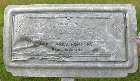 GREEN, RONNIE - Hempstead County, Arkansas | RONNIE GREEN - Arkansas Gravestone Photos
