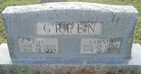 GREEN, FANNIE - Hempstead County, Arkansas   FANNIE GREEN - Arkansas Gravestone Photos