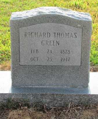 GREEN, RICHARD THOMAS - Hempstead County, Arkansas   RICHARD THOMAS GREEN - Arkansas Gravestone Photos