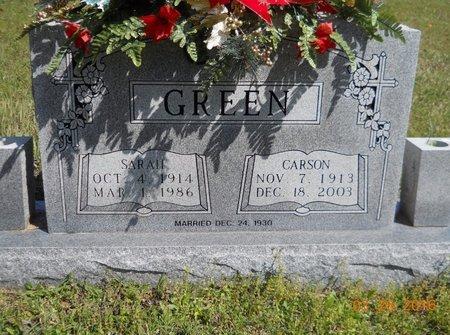 GREEN, CARSON - Hempstead County, Arkansas | CARSON GREEN - Arkansas Gravestone Photos