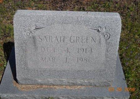 GREEN, SARAH - Hempstead County, Arkansas   SARAH GREEN - Arkansas Gravestone Photos