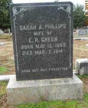GREEN, SARAH A - Hempstead County, Arkansas   SARAH A GREEN - Arkansas Gravestone Photos