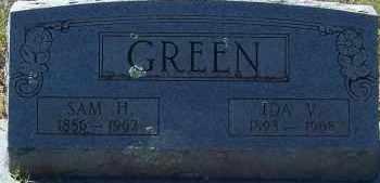GREEN, IDA V - Hempstead County, Arkansas | IDA V GREEN - Arkansas Gravestone Photos