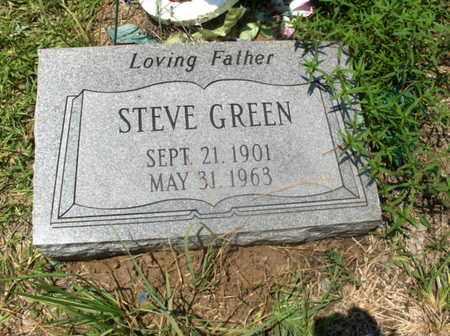 GREEN, STEVE - Hempstead County, Arkansas | STEVE GREEN - Arkansas Gravestone Photos