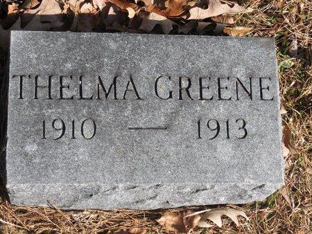 GREEN, THELMA - Hempstead County, Arkansas   THELMA GREEN - Arkansas Gravestone Photos
