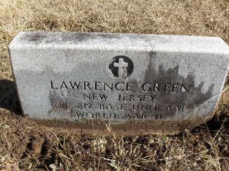 GREEN (VETERAN WWII), LAWRENCE - Hempstead County, Arkansas | LAWRENCE GREEN (VETERAN WWII) - Arkansas Gravestone Photos