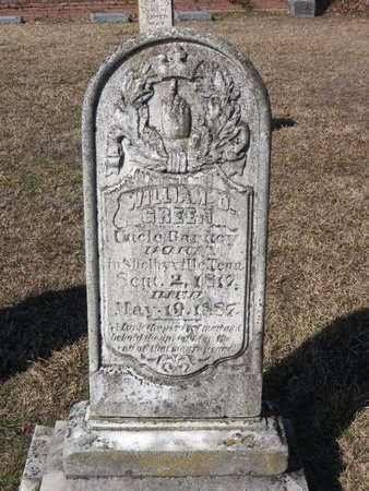 GREEN, WILLIAM O. - Hempstead County, Arkansas   WILLIAM O. GREEN - Arkansas Gravestone Photos
