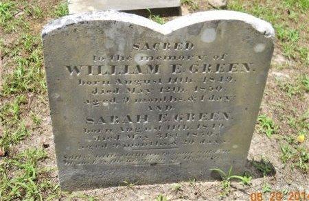 GREEN, WILLIAM E. - Hempstead County, Arkansas | WILLIAM E. GREEN - Arkansas Gravestone Photos