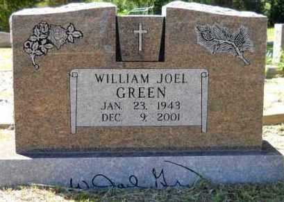 GREEN, WILLIAM JOEL - Hempstead County, Arkansas | WILLIAM JOEL GREEN - Arkansas Gravestone Photos