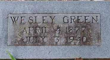 GREEN, WESLEY - Hempstead County, Arkansas | WESLEY GREEN - Arkansas Gravestone Photos