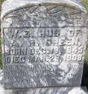GREEN, W E - Hempstead County, Arkansas | W E GREEN - Arkansas Gravestone Photos
