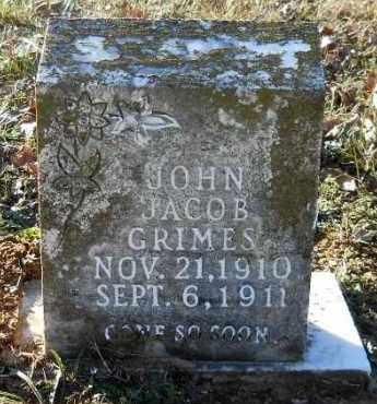 GRIMES, JOHN JACOB - Hempstead County, Arkansas   JOHN JACOB GRIMES - Arkansas Gravestone Photos