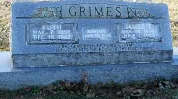GRIMES, RUTH - Hempstead County, Arkansas   RUTH GRIMES - Arkansas Gravestone Photos
