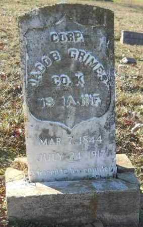 GRIMES (VETERAN UNION), JACOB - Hempstead County, Arkansas | JACOB GRIMES (VETERAN UNION) - Arkansas Gravestone Photos