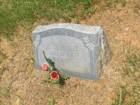 HADLEY, JENNIE - Hempstead County, Arkansas | JENNIE HADLEY - Arkansas Gravestone Photos