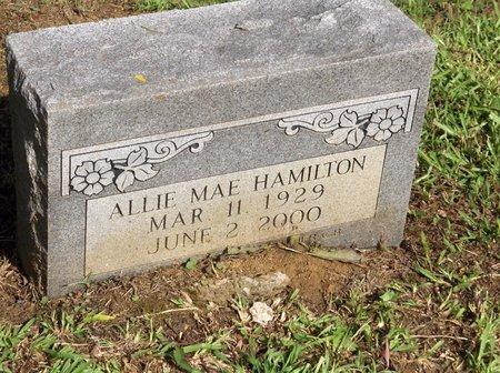 HAMILTON, ALLIE MAE - Hempstead County, Arkansas   ALLIE MAE HAMILTON - Arkansas Gravestone Photos