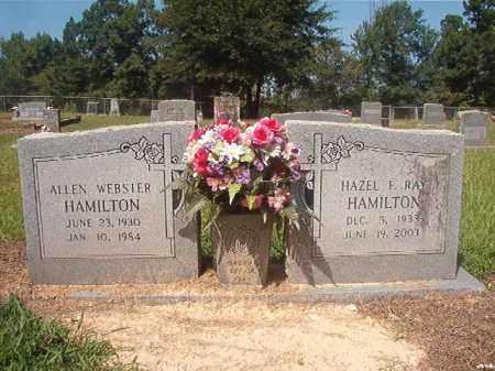 HAMILTON, ALLEN WEBSTER - Hempstead County, Arkansas | ALLEN WEBSTER HAMILTON - Arkansas Gravestone Photos