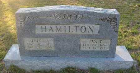 HAMILTON, ALBERT A - Hempstead County, Arkansas | ALBERT A HAMILTON - Arkansas Gravestone Photos