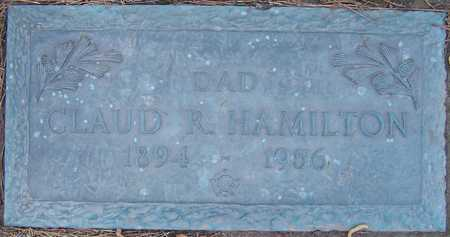 HAMILTON, CLAUD R - Hempstead County, Arkansas | CLAUD R HAMILTON - Arkansas Gravestone Photos