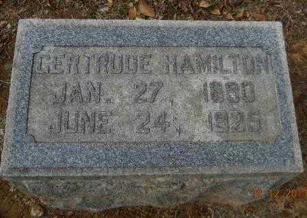 HAMILTON, GERTRUDE - Hempstead County, Arkansas | GERTRUDE HAMILTON - Arkansas Gravestone Photos
