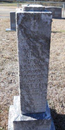 HAMILTON, JUEL - Hempstead County, Arkansas | JUEL HAMILTON - Arkansas Gravestone Photos
