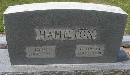 HAMILTON, GEORGIA - Hempstead County, Arkansas   GEORGIA HAMILTON - Arkansas Gravestone Photos